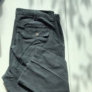 Faconnable Men's twill blue pants